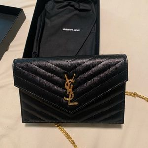 Brand new YSL purse-never used